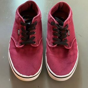 Men's Maroon Vans